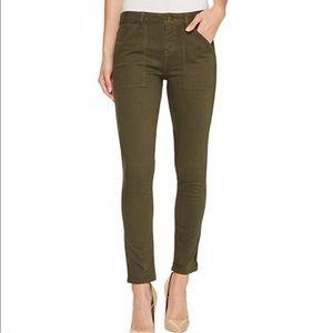 Anthropologie Sanctuary Green Skinny Jeans